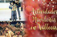 Pista de patinaje, Mercadillo navideño y Festival Coral - Actividades navideñas en Vallecas 2016