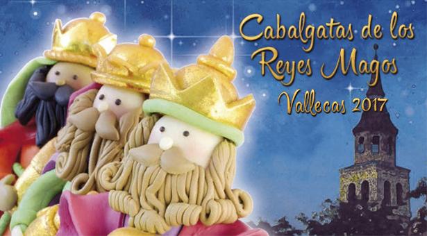 Cabalgatas de los Reyes Magos en Villa de Vallecas y Puente de Vallecas 2017