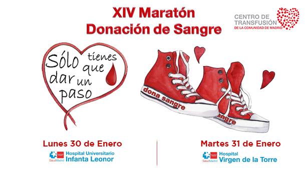 'Sólo tienes que dar un paso' - Maratones de donación de sangre en Vallecas