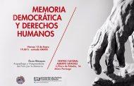 Vídeo-documental y coloquio 'Memoria democrática y derechos humanos' en C.C. Alberto Sánchez