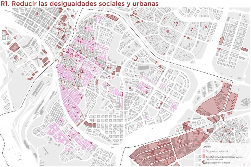Reducción de desigualdades urbanas
