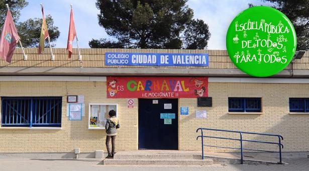 El CEIP Ciudad de Valencia hace rectificar a la Consejería de Educación de Madrid tras conseguir más de 2.500 firmas