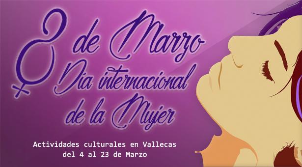 Actividades por el Día Internacional de la Mujer en Villa y Puente de Vallecas - 2017