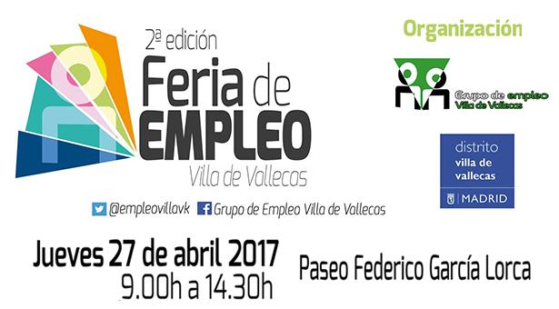 II Edición de la Feria de Empleo en Villa de Vallecas