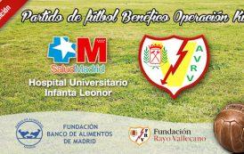 Partido de Fútbol Benéfico entre el Hospital Infanta Leonor y los Veteranos del Rayo Vallecano - 3ª Edición