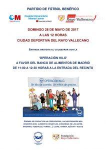 Partido benéfico HUIL – Veteranos Rayo Vallecano