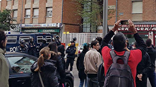 La PAH advierte de una oleada de desahucios ejecutados en Vallecas