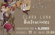 Exposición de ilustraciones de Clara Luna en el C.S. El Espacio de Vallecas