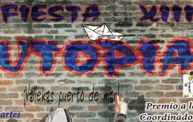 Fiesta de la Utopía 2017 – Premio Utopía para la Coordinadora Infantil y Juvenil de Tiempo Libre de Vallecas