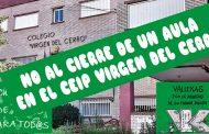 La Consejería de Educación ordena el cierre de una de las unidades de 3 años del CEIP Virgen del Cerro