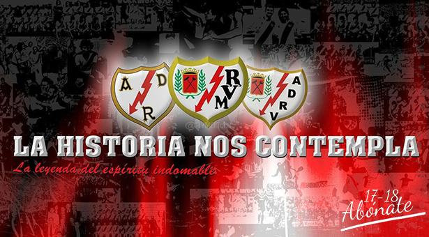 Abonos y equipación de la temporada 2017-18 del Rayo Vallecano