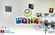 Una escuela de arte dona una colección de pinturas al Hospital Infanta Leonor