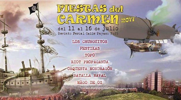 Fiestas del Carmen 2017 en Vallecas