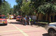 """Grietas en un inmueble de la Avenida de Santa Eugenia provocadas por unas obras """"ilegales"""""""
