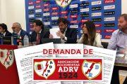 La Asociación de Accionistas ADRV demanda al presidente del Rayo Vallecano