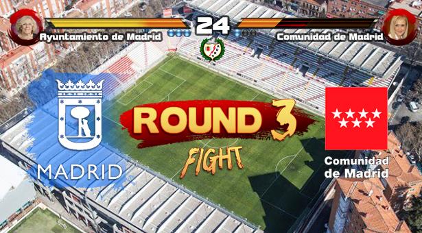 El Ayuntamiento multa a la Comunidad de Madrid por no acometer las obras necesarias en el Estadio de Vallecas