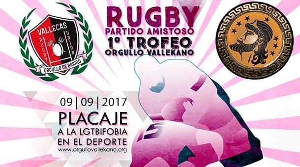 Primer Torneo de Rugby Vallekas - Placaje a la LGTBIfobia
