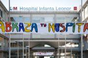 60ª Marea Blanca - Abrazo al Hospital Infanta Leonor de Vallecas por la sanidad pública