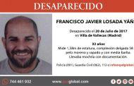 Se busca a Francisco Javier Losada Yáñez, joven de 32 años de Villa de Vallecas desaparecido