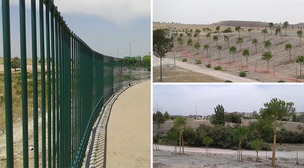 El Ayuntamiento inicia la rehabilitación del parque de la Gavia