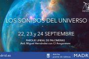 'Sonidos del Universo' - Astronomía, Ciencia y Música como clausura de los Veranos Vallecanos 2017