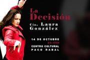 La bailaora Laura González estrena su espectáculo