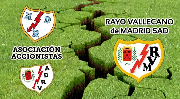 El Rayo Vallecano no acude al acto de conciliación con la Asociación de Accionistas ADRV