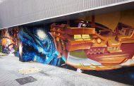 El mercado de Doña Carlota se renueva a través del arte urbano
