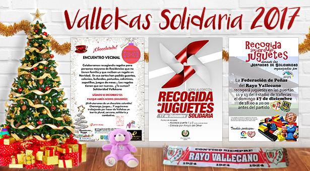 Vallekas Solidaria: Recogida solidaria de regalos para peques y ancianos