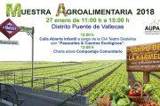 Primera Muestra Agroalimentaria en el nuevo Espacio Multiusos de Vallecas