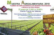 Primera Muestra Agroalimentaria en el Bulevar de Peña Gorbea