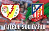 Partido solidario entre Veteranos del Rayo Vallecano y Leyendas del Atlético de Madrid en Vallecas