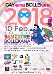 Cartel de la Gaykana Bollekana 2018