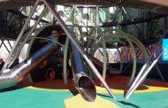 Nuevo parque infantil en el Ecobulevar del Ensanche de Vallecas
