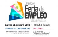 III Edición de la Feria de Empleo en Villa de Vallecas - 26 Abril de 2018