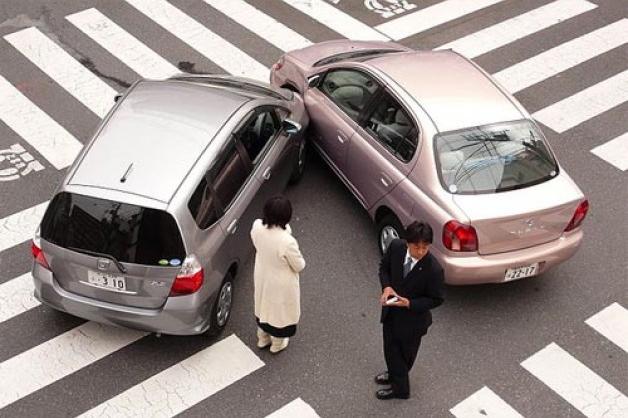 Los accidentes de tráfico en la jornada laboral