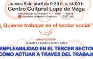 Las lanzaderas de Puente de Vallecas organizan el evento solidario 'Empleabilidad en el Tercer Sector'