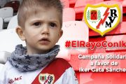 El Rayo Vallecano realiza una campaña solidaria para apoyar al pequeño rayista Iker