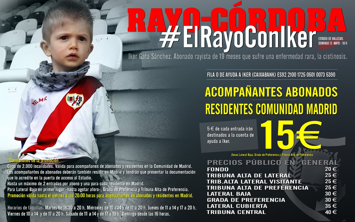 Campaña solidaria #ElRayoConIker