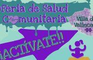 4ª Feria de Salud Comunitaria Villa de Vallecas ¡Actívate!
