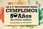 La Asociación de Vecinos de Palomeras Bajas celebra su 50º Aniversario