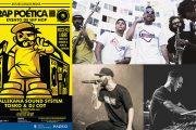 III Edición del 'Rap Poética' en Entrevías: La Vallekana Sound System, Tosko & DJ Cot y Batalla de Freestylers 2vs2