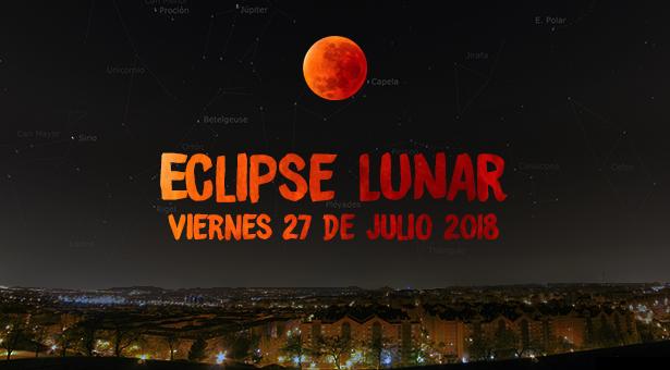 ¿Dónde ver el eclipse lunar en Vallecas?