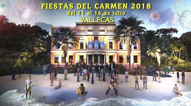 Fiestas del Carmen 2018 en Vallecas