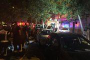 Los Bomberos rescatan a un matrimonio de ancianos en un incendio en la calle Javier de Miguel