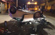 Grave accidente de tráfico en la calle Puerto de Canfranc