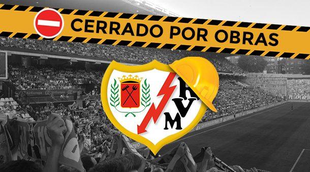 Cierran el Estadio de Vallecas por obras hasta mediados de Octubre