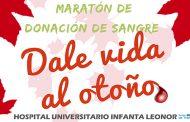 Maratón de donación de sangre en el Hospital Universitario Infanta Leonor