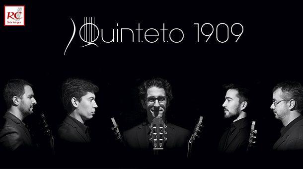 Quinteto 1909 - Cinco guitarras con punteo y acorde vallecano