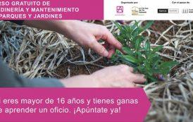 VII edición del Curso de mantenimiento de Parques y Jardines de El Pozo del Tío Raimundo